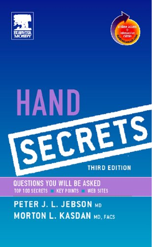 Hand Secrets, 3e By Peter J.L. Jebson