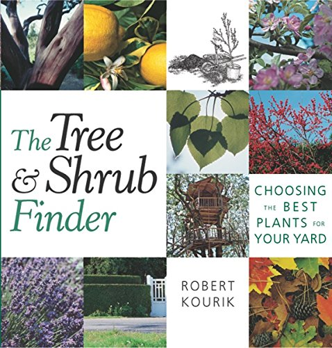 The Tree and Shrub Finder: Choosing the Best Plants by Robert Kourik
