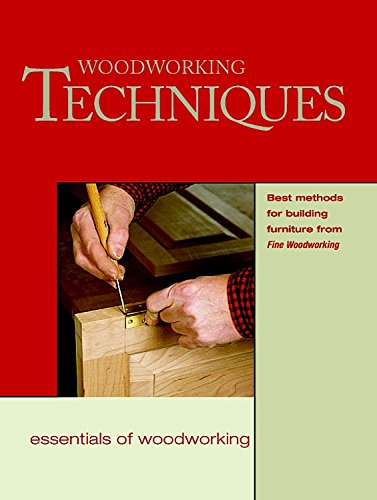 """Woodworking Techniques By """"Fine Woodworking"""""""