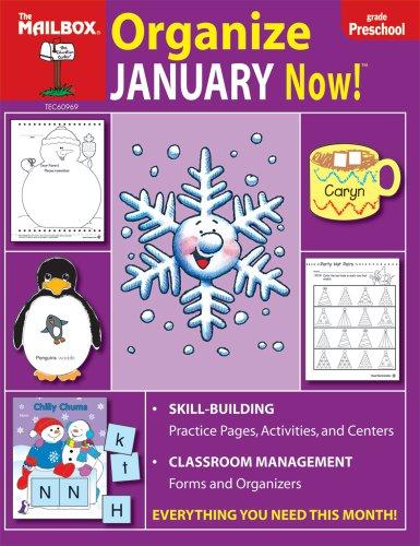 Organize January Now! : PreK