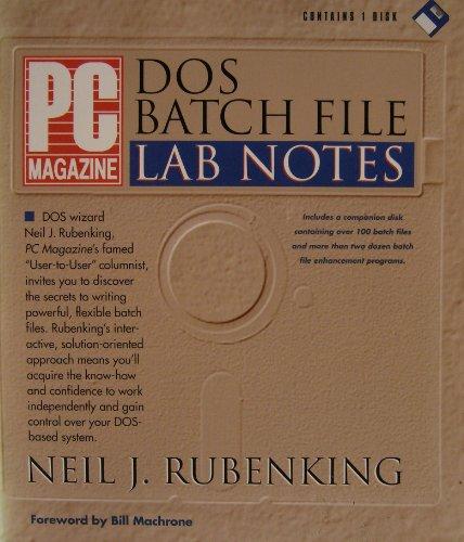 """PC Magazine"" Batch File Notes By Neil Rubenking"