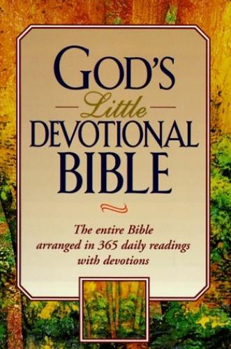 God's Little Devotional Bible By Honor Books