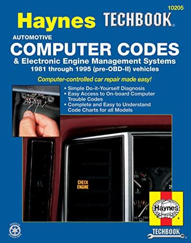 Automotive Computer Codes By Robert Maddox