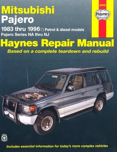 Mitsubishi Pajero Australian Automotive Repair Manual By Larry Warren