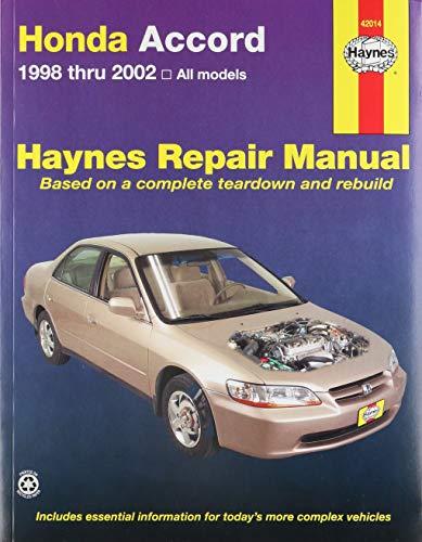 Honda Accord (98 - 02) By HAYNES