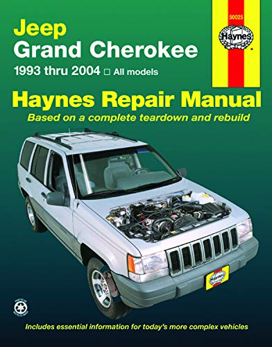 Jeep Grand Cherokee (93 - 04) By Other primary creator Haynes