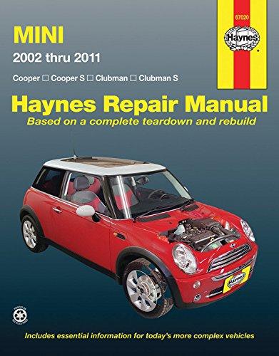 Mini 2002 - 2011 By Haynes Publishing