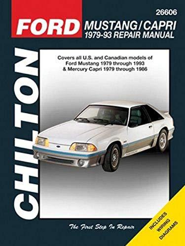 Ford Mustang 79-93 & Mercury Capri 79-86 (Chilton) By Haynes Publishing