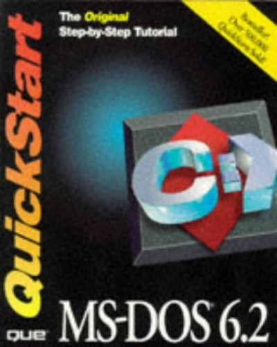 MS DOS 6.2 Quickstart By Que Development Group