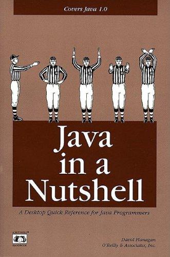 Java in a Nutshell By David Flanagan