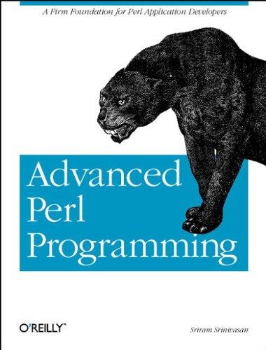 Advanced Perl Programming By Sriram Srinivasan
