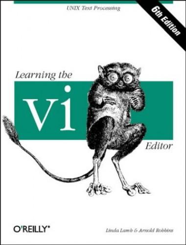 Learning the vi Editor (Nutshell Handbooks) By Linda Lamb