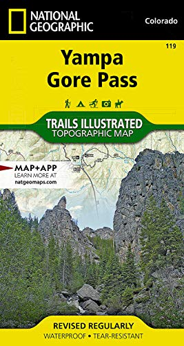 Yampa/gore Pass By National Geographic Maps