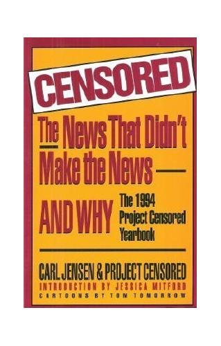 Censored! By Carl Jensen