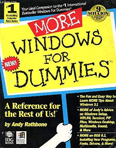 More Windows For Dummies by Andy Rathbone