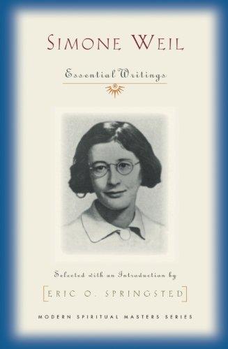 Simone Weil By Simone Weil