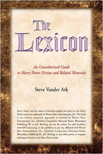The Lexicon By Steve Vander Ark