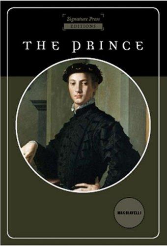 The Prince By Niccolo Machievelli