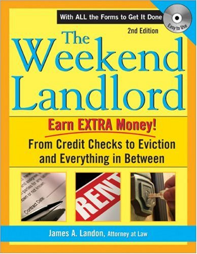 The Weekend Landlord By James A Landon