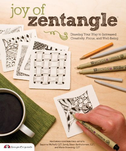 Joy of Zentangle By Marie Browning