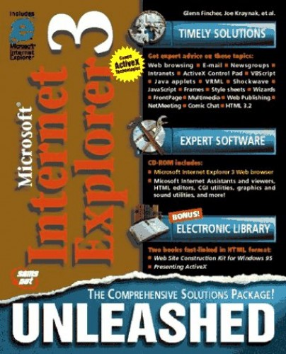 Internet Explorer 3 Unleashed By Glenn Fincher