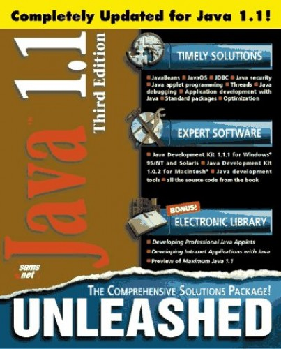 Java 1.1 Unleashed, Third Edition: Professional Reference Edition By Michael Morrison