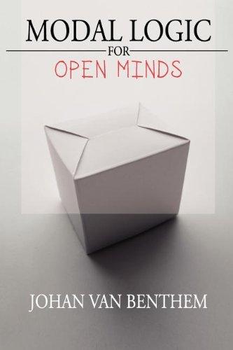 Modal Logic for Open Minds By Johan van Benthem