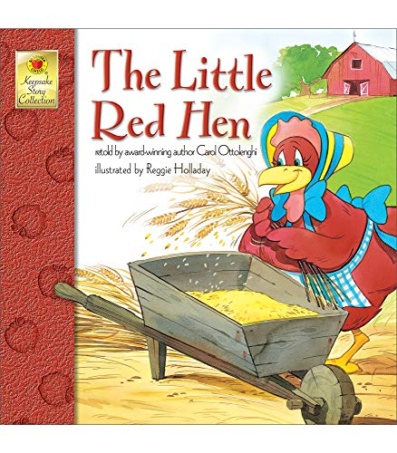 Little Red Hen By Carol Ottolenghi