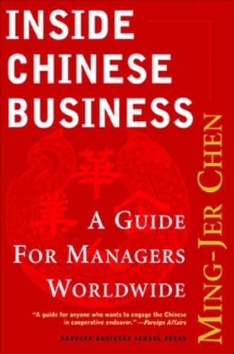 Inside Chinese Business By Ming-Jer Chen