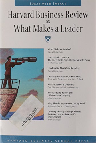 """""""Harvard Business Review"""" on What Makes a Leader By Harvard"""