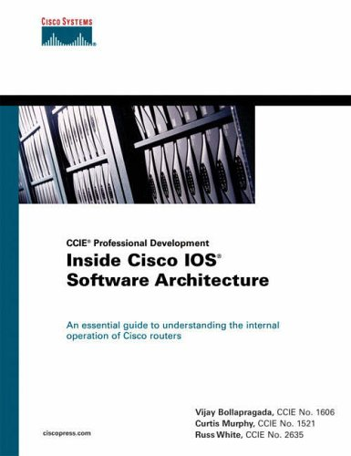 Inside Cisco IOS Software Architecture (CCIE Professional Development) By Russ White