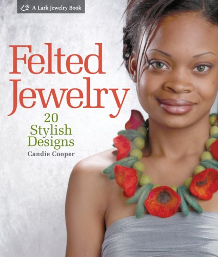 Felted Jewelry By Candie Cooper