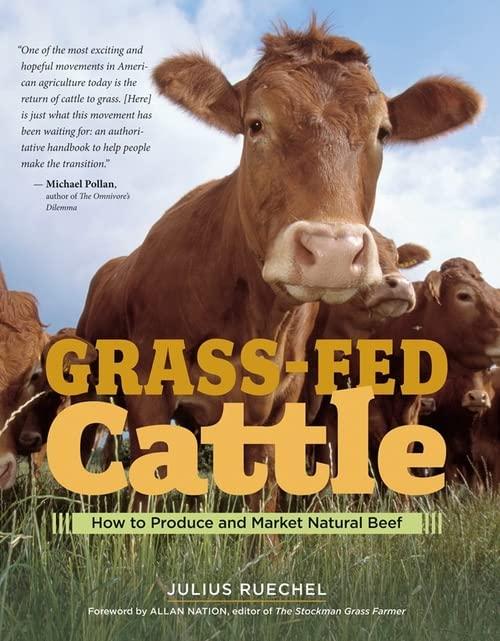 Grass-Fed Cattle By Julius Ruechel
