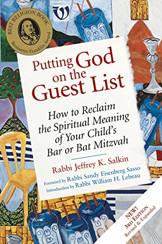 Putting God on the Guest List By Rabbi Jeffrey K. Salkin (Rabbi Jeffrey K. Salkin)