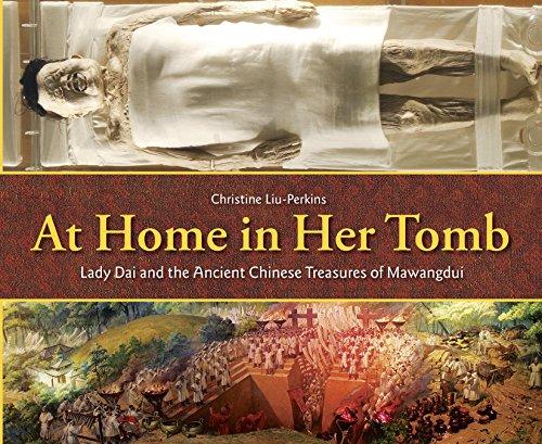 At Home in Her Tomb von Christine Liu-Perkins