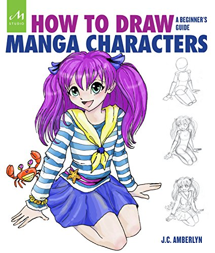 How To Draw Manga Characters By J.C. Amberlyn