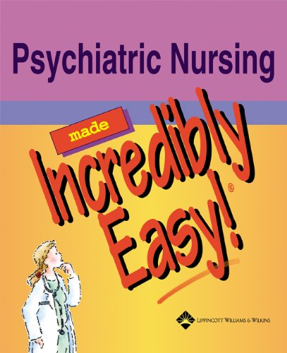 Psychiatric Nursing Made Incredibly Easy! By Prepared for publication by Springhouse