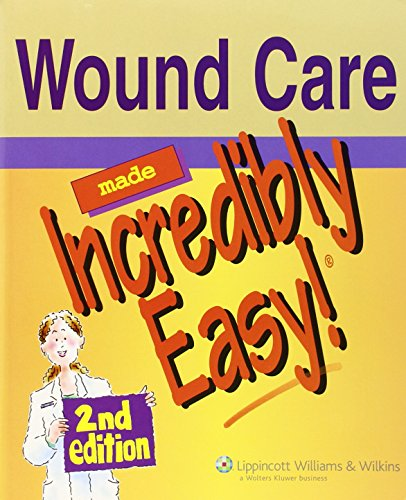 Wound Care Made Incredibly Easy By Prepared for publication by Springhouse