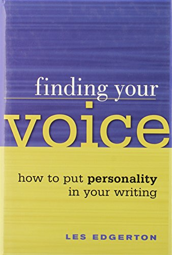 Finding Your Voice By Leslie Edgerton