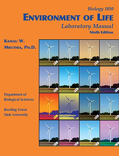 Environment of Life Laboratory Manual By PhD