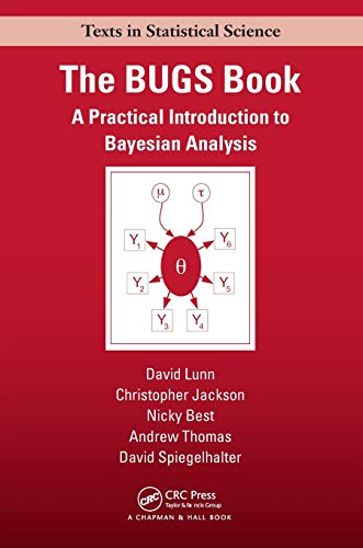 The BUGS Book: A Practical Introduction to Bayesian Analysis by David Spiegelhalter