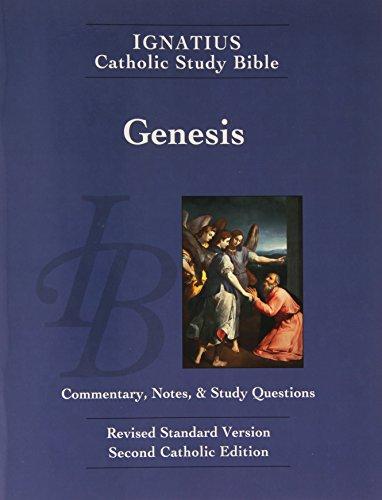 Ignatius Catholic Study Bible: Genesis by Scott W. Hahn