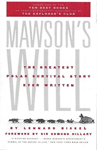 Mawson's Will von Lennard Bickel