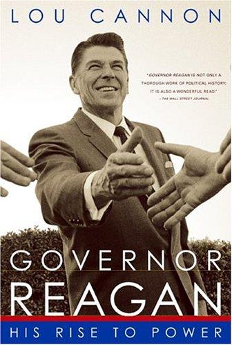 Governor Reagan von Lou Cannon