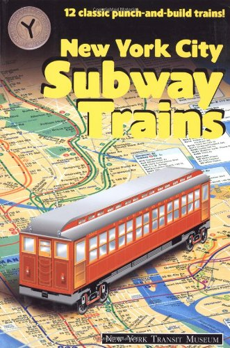 The Subway Punchout Books by New York Transit Museum