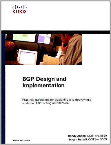 BGP Design and Implementation By Randy Zhang