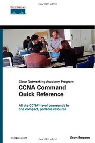 CCNA Command Quick Reference (Cisco Networking Academy Program) By Scott Empson