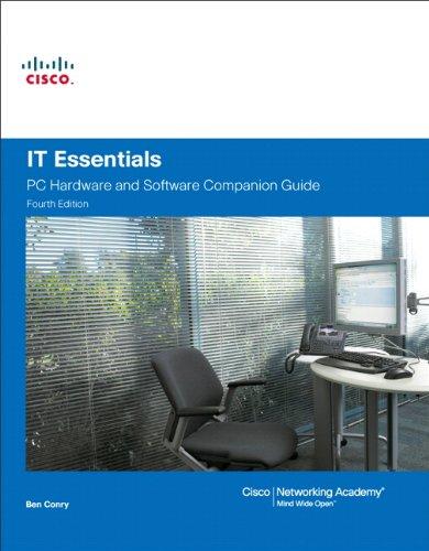 IT Essentials By Cisco Networking Academy