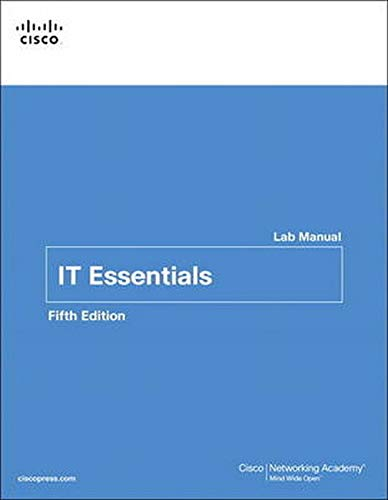 IT Essentials Lab Manual By Cisco Networking Academy