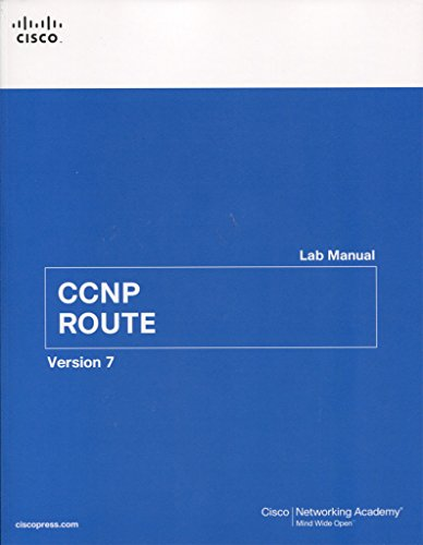 CCNP ROUTE Lab Manual By Cisco Networking Academy